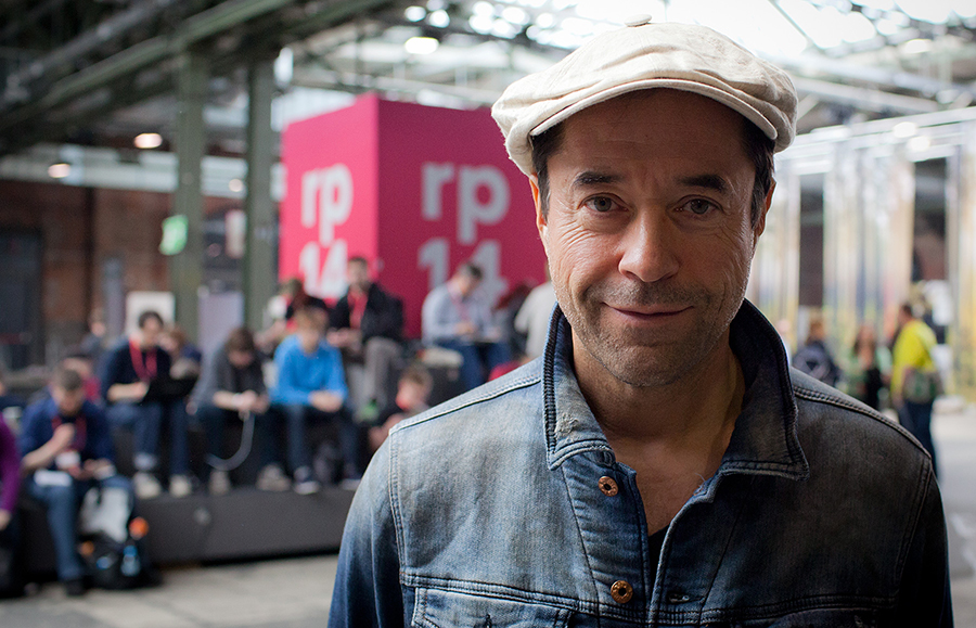 Jan-Josef Liefers auf der re:publica 2014