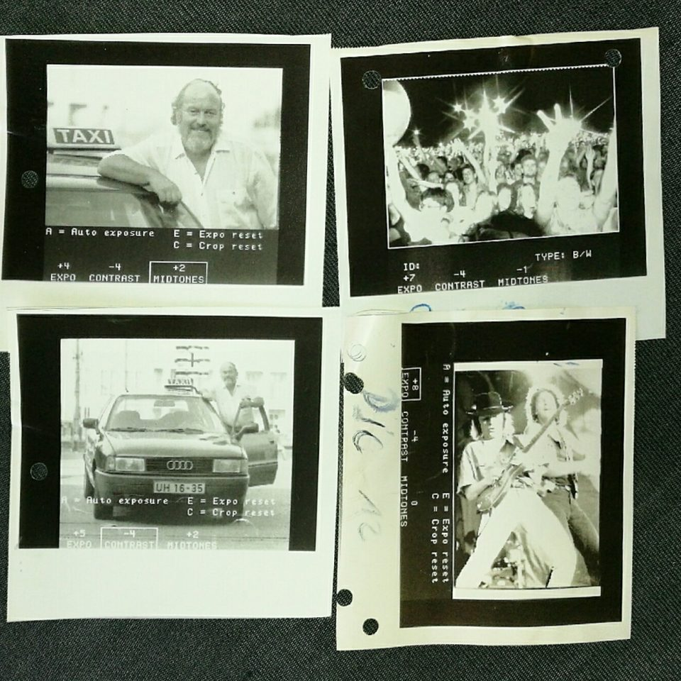 Kontrollprints aus dem Dixell 2000