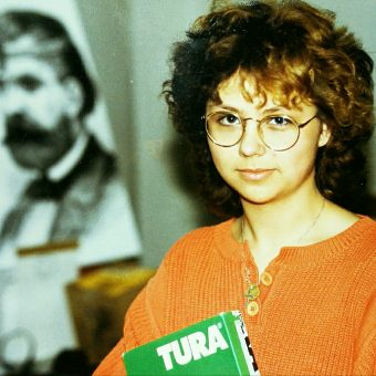 Sandra Schink im Fotolabor