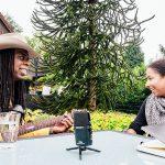 Caro Schwarz, musicspots.de, im Interview mit Larry Mitchell