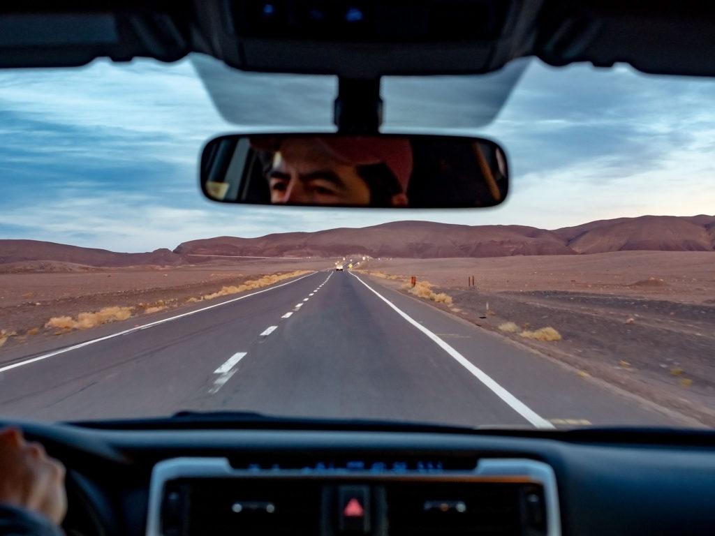 Immer geradeaus, Richtung San Pedro de Atacama